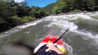 Ocoee River kayaking Tennessee