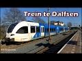 Arriva trein Stadler GTW te Dalfsen naar Zwolle!
