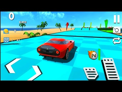 Crazy Stunts Ramp Free Car Racing | Best Android Games For Airplane Mode | Gameplay P