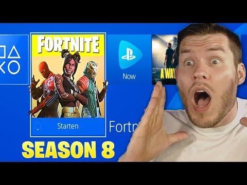SEASON 8 IST DA! FORTNITE