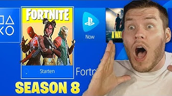 SEASON 8 IST DA! FORTNITE