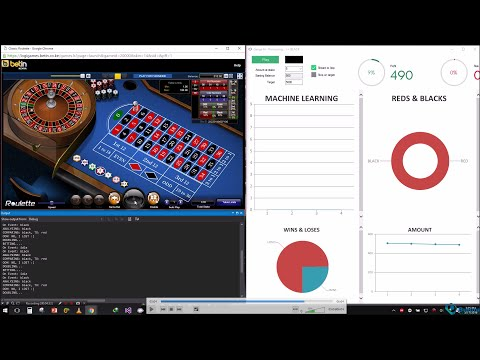 c#- AI robot plays BetIn  online casino , Pattern recognition + Artificial intelligence