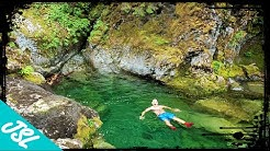 Opal Creek and Three Pools - Oregon Swimming Hole Cliff Jumps  - PNW Adventures