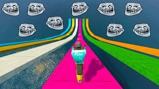 ELIGE LA RAMPA TROLL! - CARRERA GTA V ONLINE - GTA 5 ONLINE