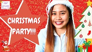 How to plan a simple CHRISTMAS party! (party party!) (Philippines)