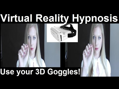 Magic Hand ASMR #3D Works with a virtual reality goggle! #Hypnosis #ASMR #VR