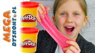 Play Doh Slime DIY •  Pachnący Glutek z Ciastoliną • kreatywne Zabawy