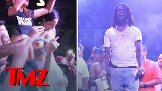 Chief Keef Gets Flashed By Fan ...Forgets Everything!! | TMZ