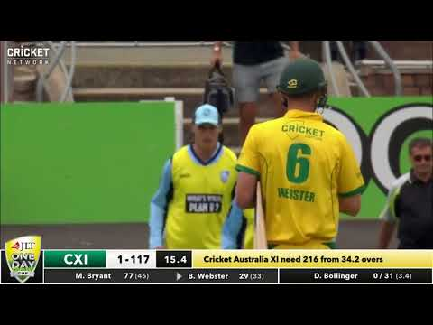 New South Wales v Cricket Australia XI - JLT Cup2017