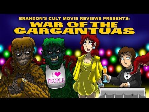 Brandon's Cult Movie Reviews: WAR OF THE GARGANTUAS