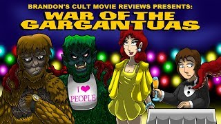 Brandon's Cult Movie Reviews: WAR OF THE GARGANTUAS