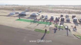 عبدالله الفودري في عرض مميز بطائرة هليكوبتر RC