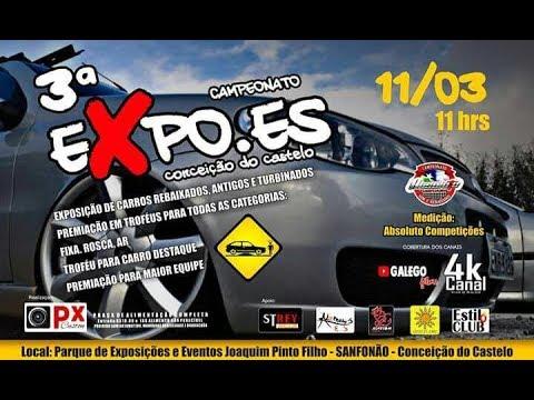 3º EXPOES - CONCEIÇÃO DO CASTELO - PARTE 1 - STRADA AGARRADA NA PORTA DO EVENTO