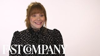 Bryce Dallas Howard Landed Her First Lead Role In A Surprising Way   Fast Company