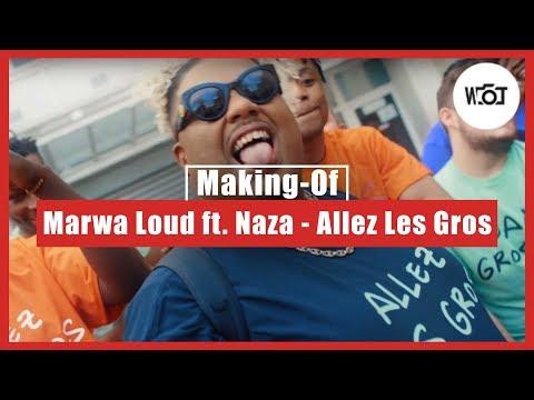 Youtube: Un tournage avec Marwa Loud & Naza – Allez Les Gros