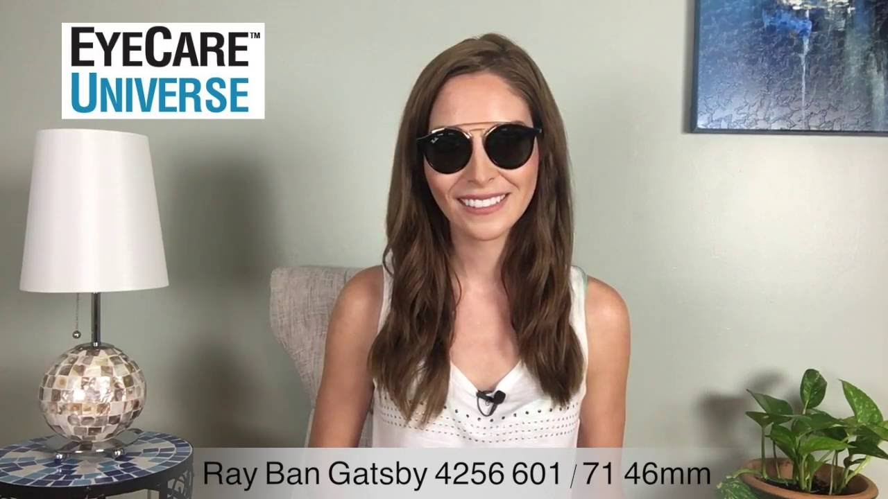 61078c2c03 Ray-Ban Gatsby 4256 601 71 46mm Video Review - YouTube