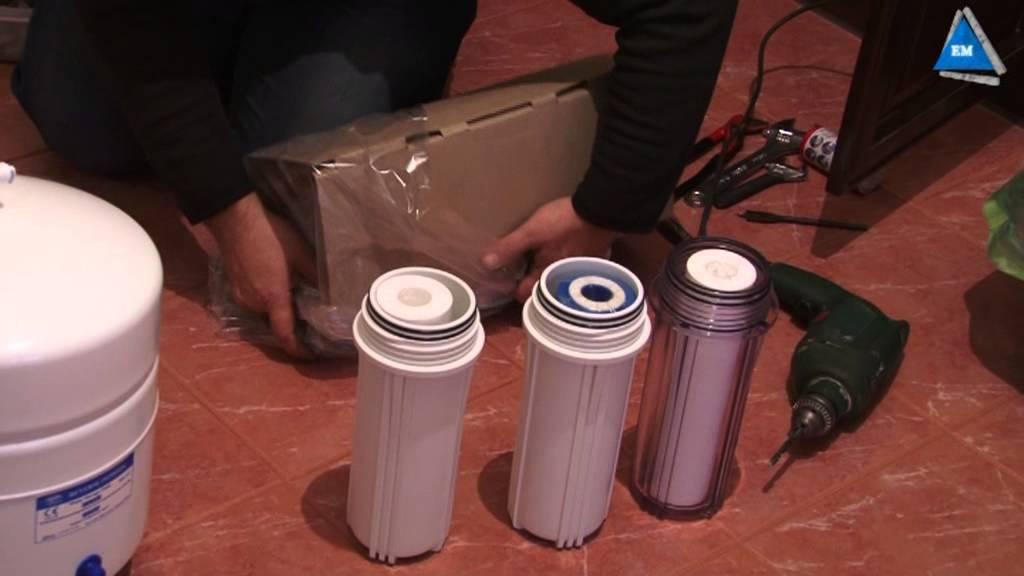 последовательность установки фильтров очистки воды