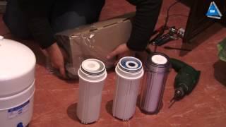 Установка фильтра очистки воды в квартиру Киев(, 2013-11-21T16:08:24.000Z)