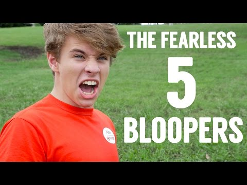 The Fearless Five Bloopers