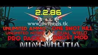 How To Download Mini Militia Hack Version Mods(English)
