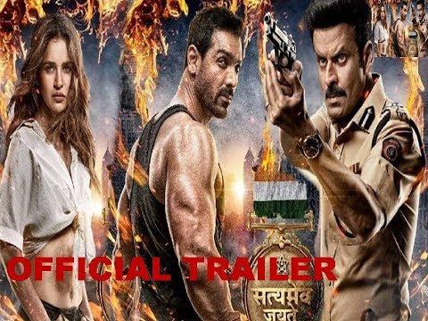 Official Trailer -  Satyameva Jayate | John Abraham | Manoj Bajpayee | Aisha S | Milap Milan Zaveri