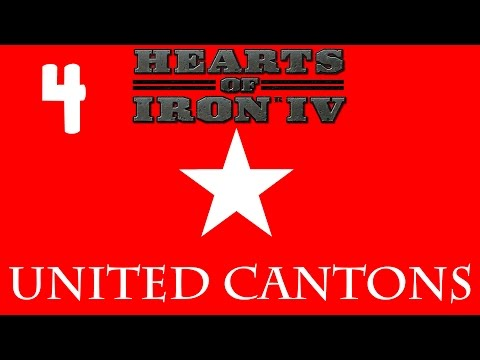 Hearts of Iron IV - United Cantons 4