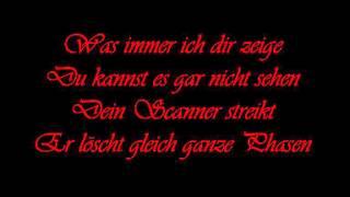 Unzucht-Seelenblind (Lyrics)