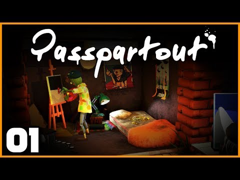 Passpartout: The Starving Artist - Ep. 1: I Can Paint! | Passpartout Gameplay/Let's Play