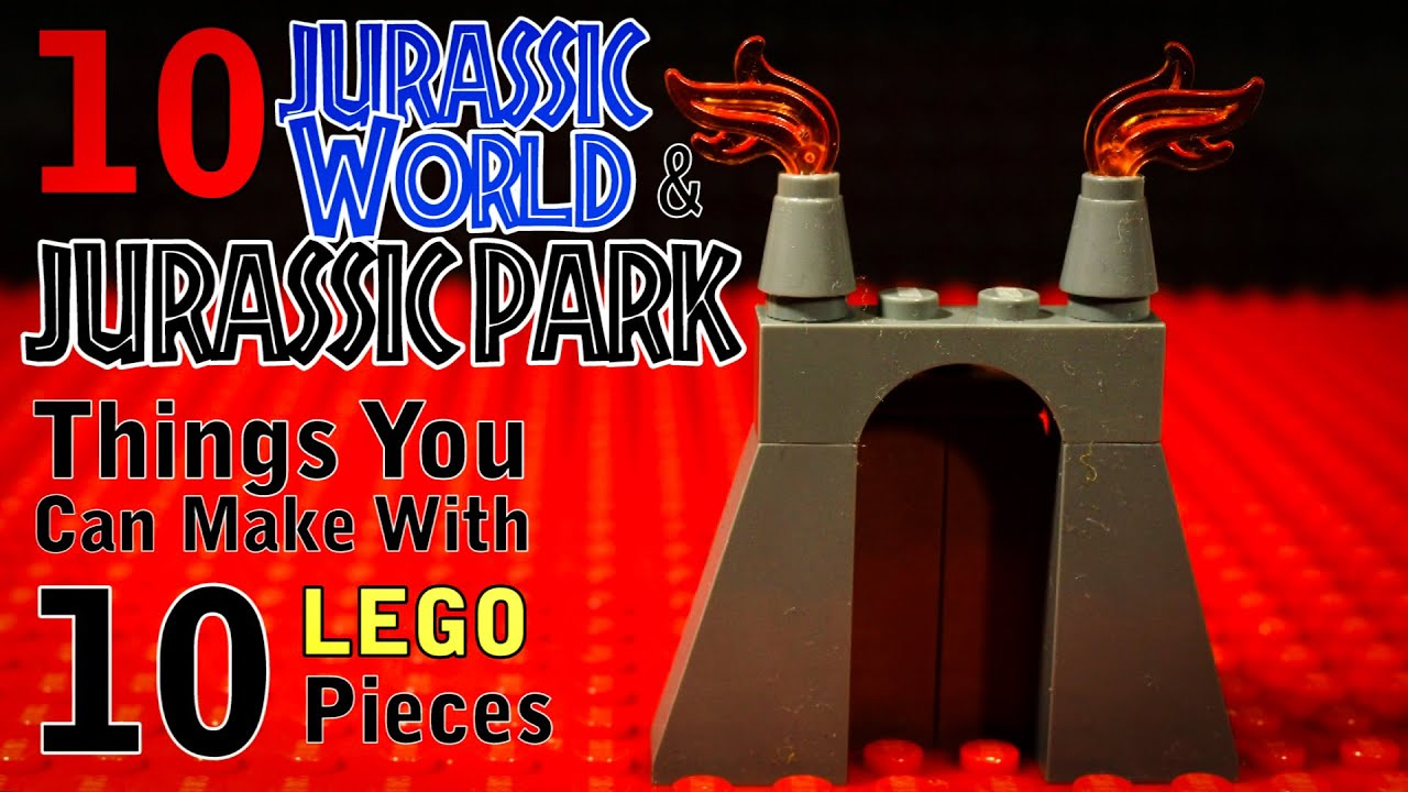 Download 10 Jurassic World / Park Things You Can Make With 10 Lego Pieces
