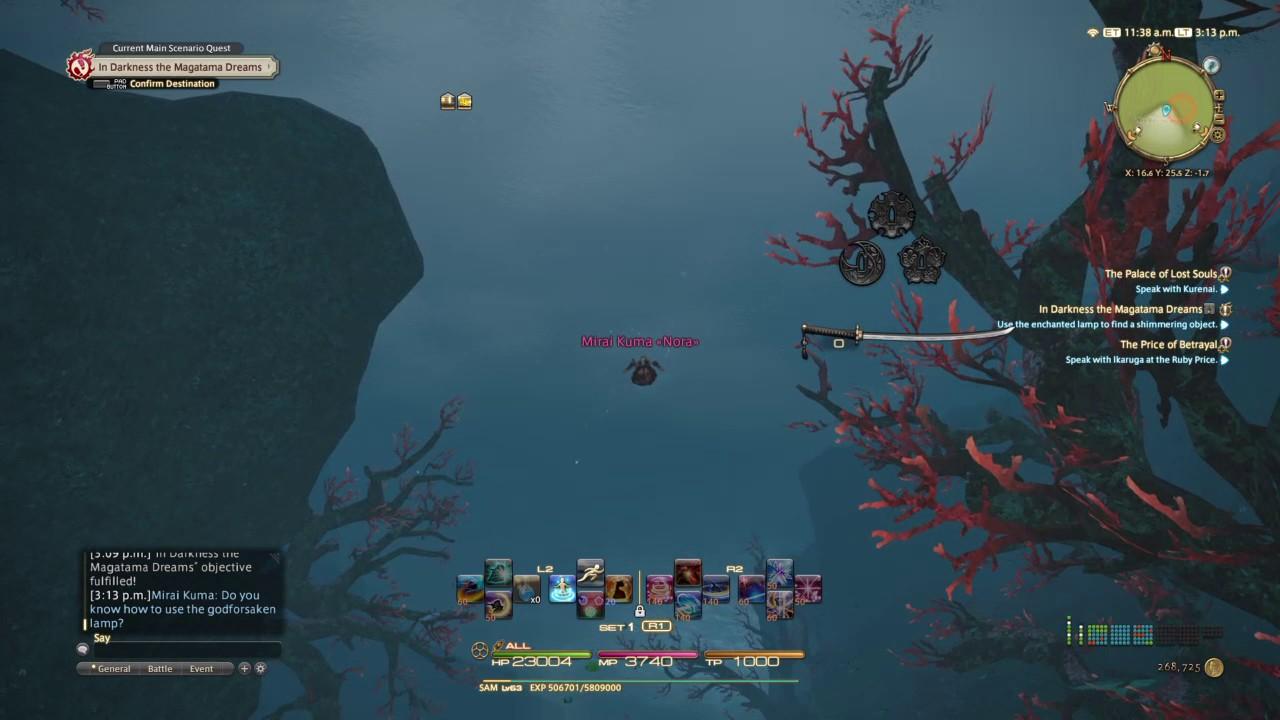 Final Fantasy Xiv Asking A Stranger For Help Fail Gameplay