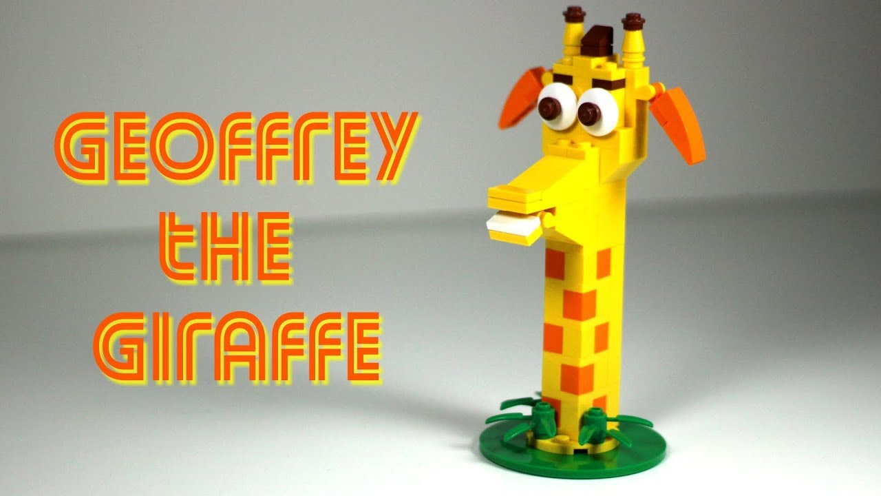 How To Make Geoffrey The Giraffe Toys R Us Mascot Youtube
