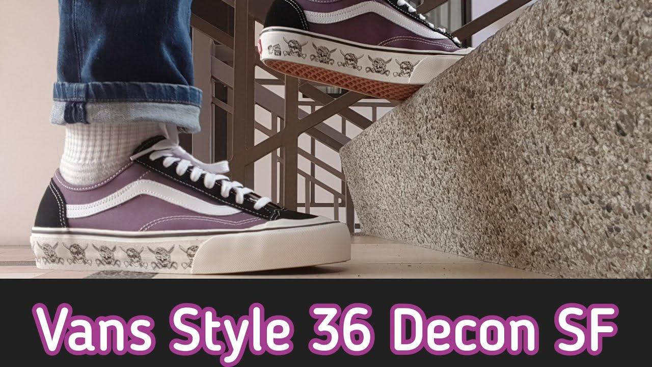 [unboxing] Vans Style 36 Decon SF