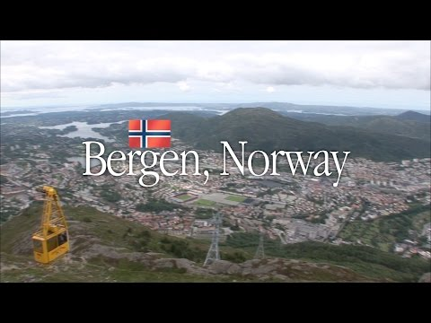 Bergen vacation travel guide highlights, Norway - 노르웨이 베르겐