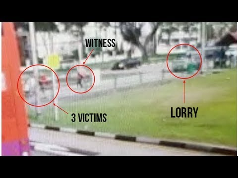 3 Killed In Yio Chu Kang Crash: Another Video Shows Lorry Hurtling Towards Victims