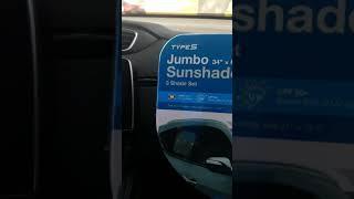 Windshield Jumbo Sunshade