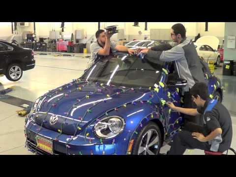 The Making of Riverside VW's Holiday Beetle