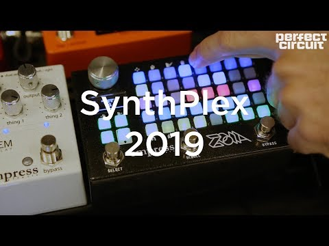 Empress Effects Zoia Modular Synthesizer & Effects Pedal SYNTHPLEX 2019