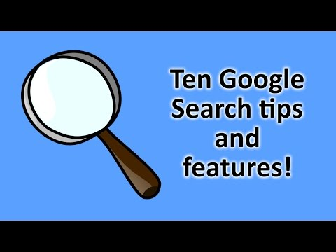 10 Google Search Tips and Tricks!