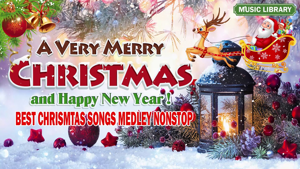 Best Non Stop Christmas Songs Medley - Top 100 Christmas Nonstop Songs Ever - YouTube