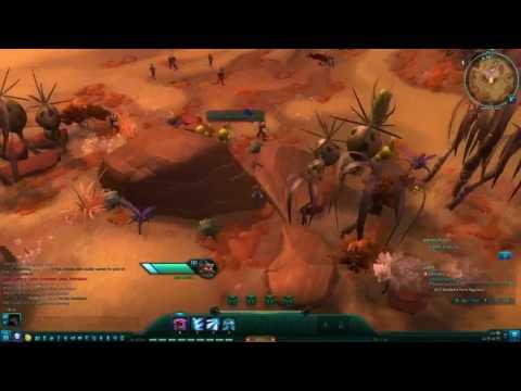 Wildstar F2P MMO - Chua Medic Gameplay Part 2 - Crimson Isle 100% Map Walkthrough