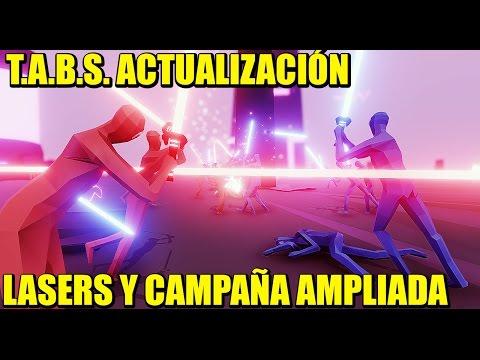 ACTUALIZACIÓN T.A.B.S - FACCIÓN NEÓN Y CAMPAÑA AMPLIADA   Gameplay Español