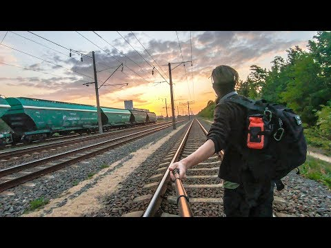 Train Surfing Journey To The Baltic Sea | Part 1