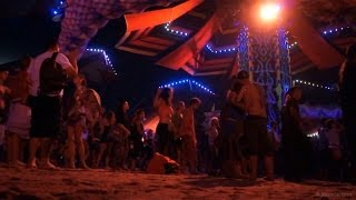 Boom Festival 2012 - Dance Temple @night (music: Hilight Tribe - Free Tibet | Peace)