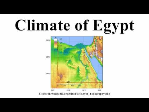 Climate Of Egypt