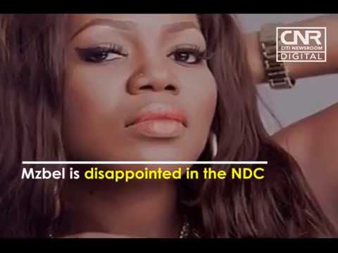 Mzbel upset with NDC for neglecting her after accident