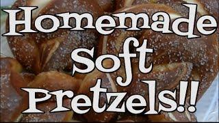 Homemade Soft Pretzels Recipe ~ Noreen's Kitchen