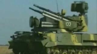 TUNGUSKA M1 Sistema de Misil Arma Antiaérea - Anti Aircraft Gun Missile System