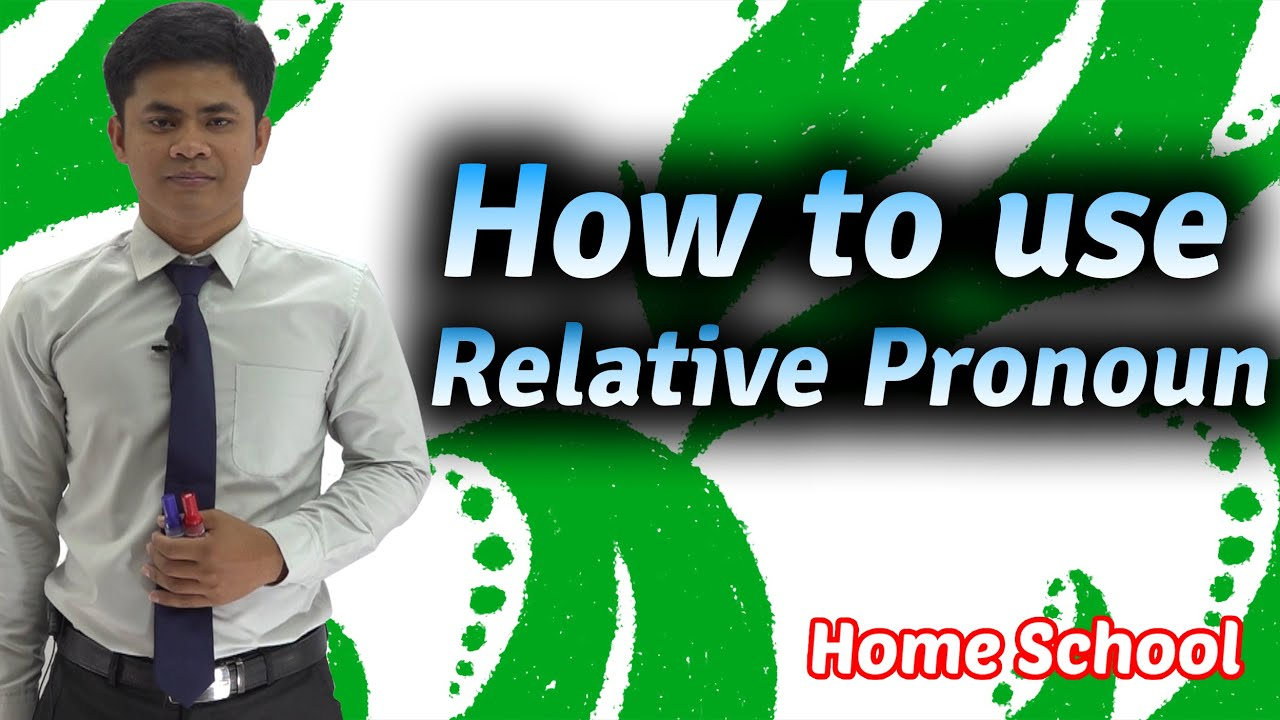 How to use Relative Clause/ Adjective Clause OR how to omit Relative Pronoun | Home School