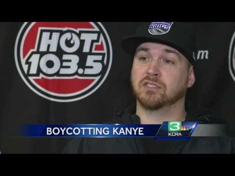 Radio station boycotts Kanye West after Sacramento rant