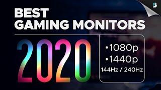 The BEST Gaming Monitors of 2020: 1080p, 1440p, 144Hz, 240Hz